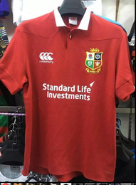 Wholesale 2017 Irish Lions rugby shirts home top quality ru British Irish rugby shirts home top quality rugby shirts