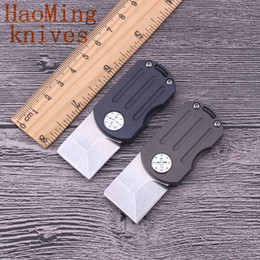 Mini Outdoor ODT Flipper Folding Blade Knife M390 Blade Key Chain Hunting Knives Portable Practical Camping Survival Tactical comba EDC Tool