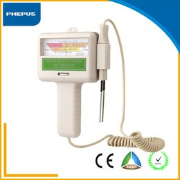 Wholesale PHEPUS PH CL2 Water Quality Chlorine Tester Level Meter PH Water Tester for Swimming Pools No chemical agent needed