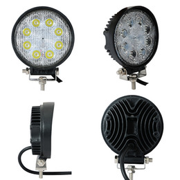 Wholesale Hot sale square inch w led work light IP68 flood spot beam led driving light for trucks tractor