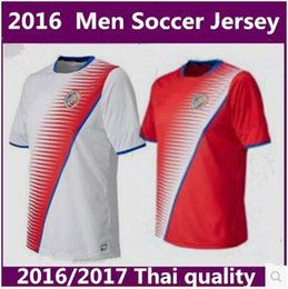 Wholesale thai quality Costa Rica Adult Soccer Jerseys Costa Rica Home away shirt custom name and number