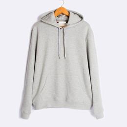 Mens Casual Hoodies Black Gray Gym Cloth Solid Fashion Good Quality
