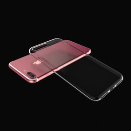 Soft TPU Thin Case for Samsung Galaxy S8 Plus Clear Iphone 7 Plus Case Soft Transparent Gel Back Cover Note 5 Opp Bag