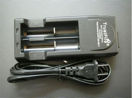 Free DHL,3V-3.6V voltage TrustFire 001 TR001 Lithium Battery Charger for 14500 16340 18500 18650 Battery (Black or White)