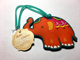 "Fast Delivery Factory Directly Sale Wedding Favor ""Lucky Elephant"" Luggage Tag Airline Luggage Creative Gifts"