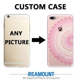 3D Relief Mandalas DIY Custom Case for iphone 7 plus for iphone 6s for iphone 6s plus Create Your Own LOGO & Picture Soft TPU Cases