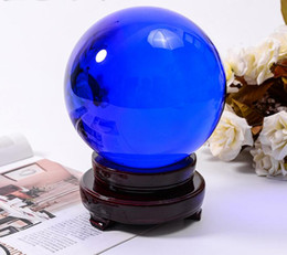 Direct selling blue crystal ball transfer a great wind water polo crafts home furnishing articles creative desk gifts sitting room