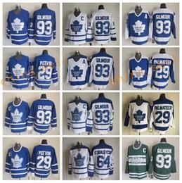 Wholesale Best Doug Gilmour Throwback Jerseys Men Toronto Maple Leafs Stanleycup Felix Potvin Mike Palmateer Hockey Vintage Classic