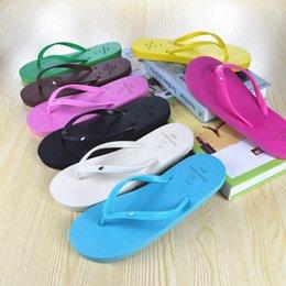 2017 Hot Summer Flip Flops chaussures femmes US European Fashion Soft Leisure Sandals Beach Slipper indoor Outdoor Sandales flip-flops FF-04 à partir de la mode en plein air européen fabricateur