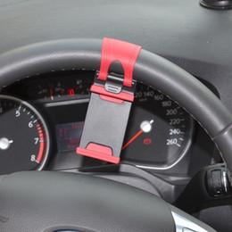 Volant pour les vélos à vendre-250pcs voiture streeling volant support de berceau Clip voiture vélo de montage pour iPhone 5 6 6 plus Samsung s5 S4 NOTE 2 GPS 100pcs