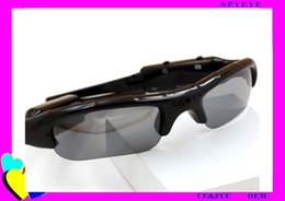 Wholesale Big discount factory price P resolution pinhole technology support GB memeory spy hidden video sunglasses camera