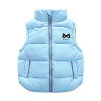 9M-3T Years kids vest Baby girl boy waistcoat kids boys 4 Solid Color Boy Winter Vest Down Feather Warm Children Vest Clothes