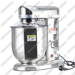 Wholesale 10L W Food Mixer Stainless Steel Egg Beater Push Button Milk Shaker Work Top Dough Mixer