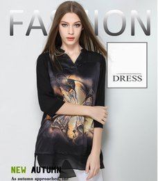 flower printed t shirt women long sleeve mesh sexy plus size high quality