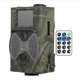 Wholesale Suntek Hunting Camera HC M MP P Video Night Vision MMS GPRS Scouting NM Infrared Trail GSM LCD Hunter Cam