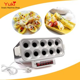 Wholesale Commercial Egg Roll Machine Automatic Egg Roll Toaster Popular Sausage Roll Machine Hot Dog Machine For Sale