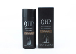 Wholesale QHP Hair Building Fibers Best Salon Barber Instant Hair Styling Powder Thickening Keratin Hair Fibre Concealer g