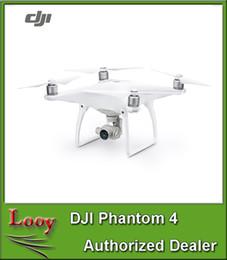 Promotion drones de caméras aériennes Original DJI Phantom 4 caméra drone avec 4K caméra + 3 axes cardan FPV quadcopter professionnel Photographie aérienne UAV