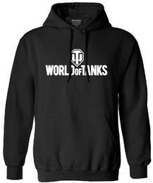 Wholesale autumn Funny World Of Tanks sweatshirt men fashion tracksuit Manufacture World War ii Tank hooded streetwear Men clothes