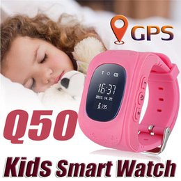 Wholesale Q50 GPS Tracker for Child Kid Smart Watch SOS Safe Call Location Finder Locator Trackers Smartwatch for Kids Children Anti Lost Monitor