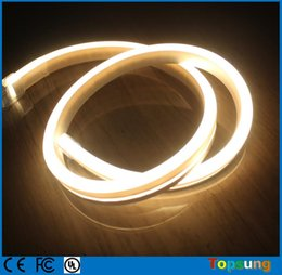 50m spool 11x19mm Flat ultra thin led neon lights flexible neon rope 220V 110V IP67 for outdoor with high quality