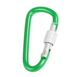 Wholesale cm Length Spring Loaded Gate Aluminum Alloy Locking Carabiner