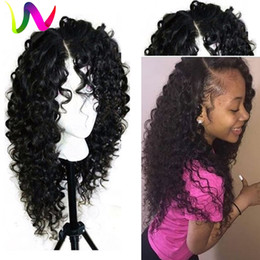 Wholesale Freetress Front Lace Wigs Sintetica Lacefront Wigs With Baby Hair Short Natural Wave Synthetic Lace Front Wigs For Black Women