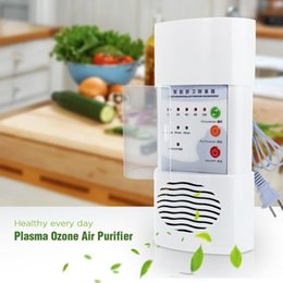 Wholesale Plasma Ozone Air Purifier Home Office Germicidal Electric Oxygen Concentrator Filter Cleaner Deodorizer White Chinese Plug