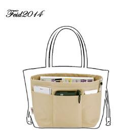 Purse Oganizer Insert Travel Bag Organizer Women Organizer Pouchfor Brand Bags  Women toiletry Bags 4 Size,4 colors(Rose,Brown,Black,Coffee)