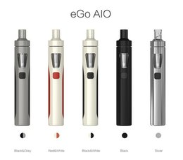 start kit ego Promotion Clone Joyetech EGO Kit Aio 1500mAh Quick Start Vaporisateur Kit All in One Starter Kit 0.6ohm avec LED colorée
