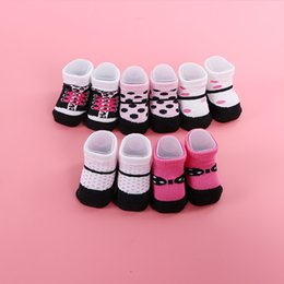 0-6M T Mom Favorite Contracted Contracted Style Girl Baby Booties Cute Cotton Socks Breathable Baby Socks Spring And Autumn