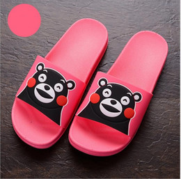 ladies shoes flip flops summer slippers women cute cartoon printed couple shoes skid resistance
