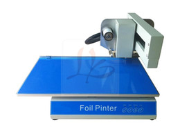 Wholesale best LY A foil press machine digital hot foil stamping printer machine for paper ribbon printing