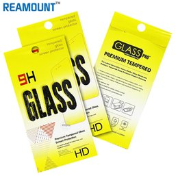 200 pcs Wholesale for Retail Package Packaging for Screen Protector Tempered Glass for LG V20