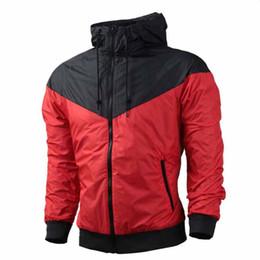 Wholesale NK thin windrunner Men Women sportswear high quality waterproof fabric Men sports jacket Fashion zipper hoodie