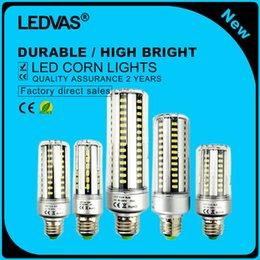 LEDVAS E27 E14 E12 LED Lamp 5736SMD LED Lights Corn Led Bulb 5W 7W 9W 12W 15W 20W 25W Chandelier Candle Lighting AC85-265V