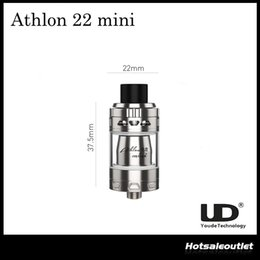 Wholesale Authentic UD Youde Athlon Mini Tank Atomizer with ml Top Filling Capacity with ohm MOCC Couil Original