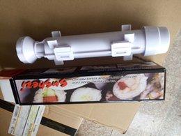 Wholesale New Sushezi Roller Mold Kit Sushi Rolls Made Easy DIY Sushi Bazooka Sushi Maker Mold Cooking Tools