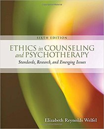 New Released Book: Ethics in Counseling and Psychotherapy 978-1305089723