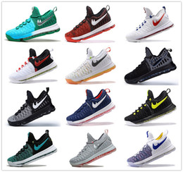 Wholesale Hot Sale Kd Basketball Shoes Sneakers Runing Kevins Kds VIIII Lowe Elite Blue Durant Men s Athletic Kd9 Sports Shoes