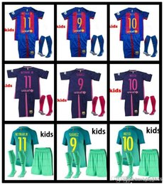 2016 2017 children football suit men and women custom group buying football game training kit