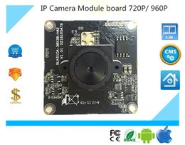Canada Luckertech Secure CCTV IP Camera module board focuesed full color ONVIF Full HD 720P 960P P2P Mobile Survillance Offre