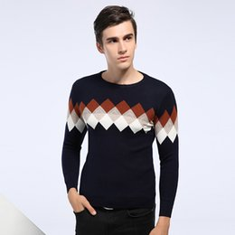 Wholesale Mens Sweater Knitwear Knitting Wear Pullover Male Winter Sweaters Woollen Coat Brand Clothing Spring Autumn Clothes Newest