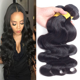 7A Body Wave Bundles Unprocessed Brazilian Virgin Hair Extension Natural Color Extensions 3 Bundles Mixed Length 18 20 22 Inches Body Wave H