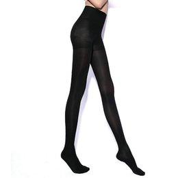 Promotion jambes sexy bas Grossiste-Femmes Sexy Automne Hiver Chinlon 680D épais Leg Pantyhose Leg Legging
