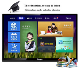 Wholesale Fashionable narrow edge Hd smart TV built in WiFi Internet shopping watching movies USB support multimedia set top box antenna