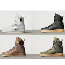 Wholesale Hot Sale Special Field Air Force One Men Women High Boots Running Shoes Sneakers Fashion Unveils Armed Forces Classic Shoe Casual Shoes