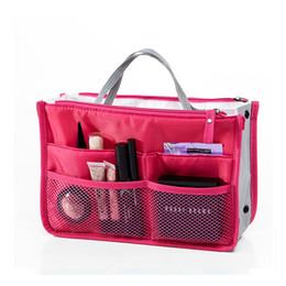 Bag Organizer Nylon Cosmetic Bag Female Makeup Bags Multi-Function Travel Organizer Women Travel Beauty Bags Lady Cosmetic Bag BY180