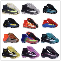 Wholesale 2017 new Original Soccer cleats MercurialX Proximo II Indoor Superflys football soccer shoes futsal Shoes hypervenom phantom