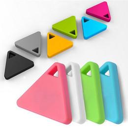 Descuento dispositivo de niño perdido Triángulo Anti-perdió la alarma inteligente Anti-perdió el dispositivo SMD clave de los niños clave Anti-perdió GPS localizadores de alarma portátil al por mayor